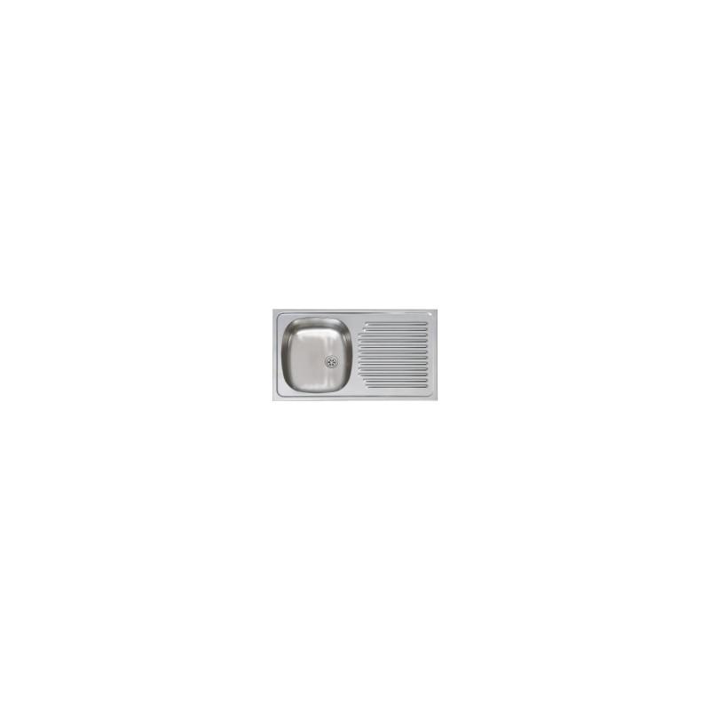 evier inox haut de gamme encastrable 80x51. Black Bedroom Furniture Sets. Home Design Ideas