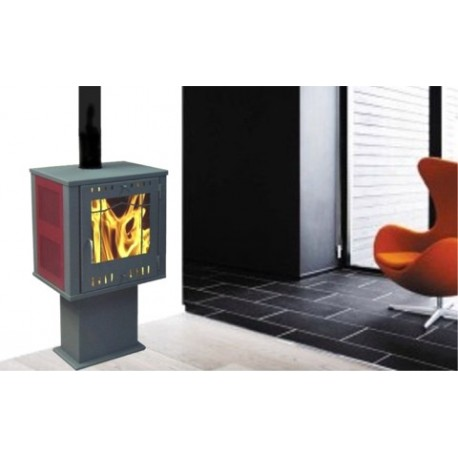 po le bois quadro rouge lamaisondupoeleabois 0558750435. Black Bedroom Furniture Sets. Home Design Ideas