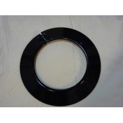 Rosace émaillée noir diametre 150